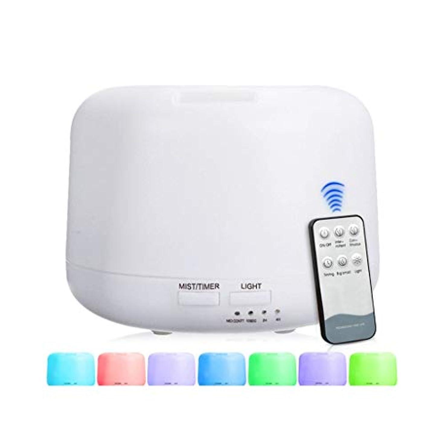 見てトイレ宇宙300 Mlアドバンストディフューザー、超音波蒸発器加湿器、タイマーおよび自動遮断安全スイッチ、7 LEDライトカラー (Color : Warm white)