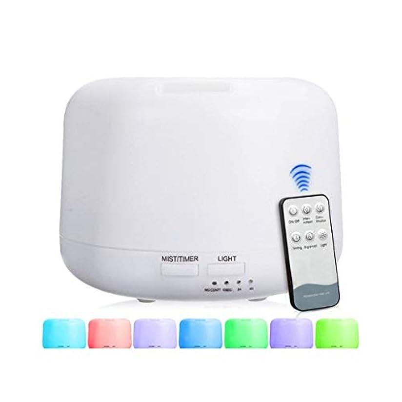 先住民ヒゲ象300 Mlアドバンストディフューザー、超音波蒸発器加湿器、タイマーおよび自動遮断安全スイッチ、7 LEDライトカラー (Color : Warm white)