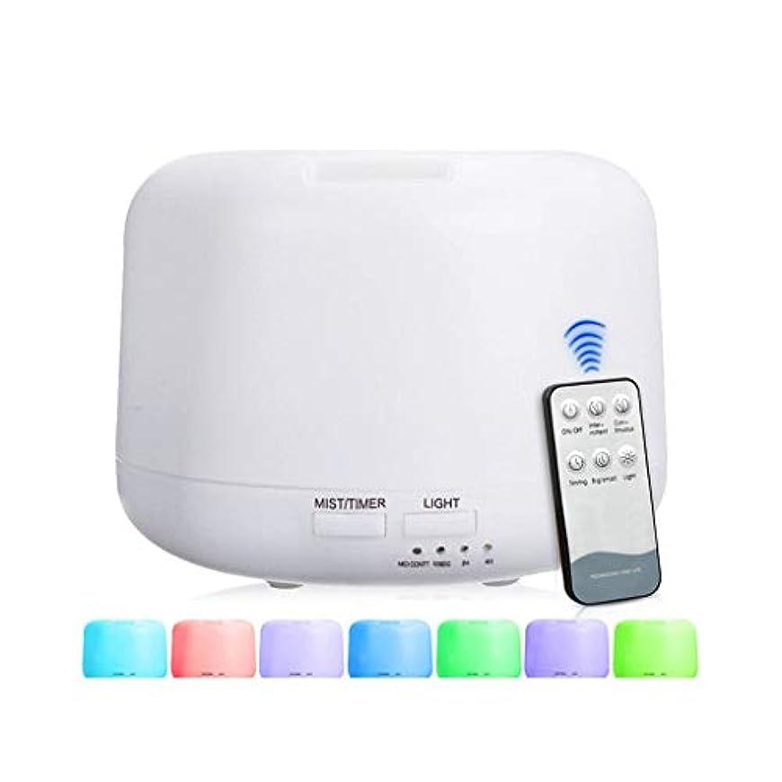相対サイズ不満良性300 Mlアドバンストディフューザー、超音波蒸発器加湿器、タイマーおよび自動遮断安全スイッチ、7 LEDライトカラー (Color : Warm white)
