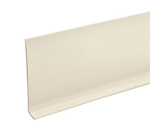 MD Building Products 75481 Vinyl Wall Base Bulk Roll, 4 Inch-by-120-Feet, Almond