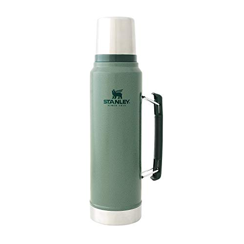 STANLEY(スタンレー) 新ロゴ クラシック真空ボトル 1L グリーン 水筒 08266-006 (日本正規品)