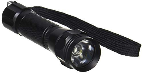 LED懐中電灯 IPX4 100lm 単3×1本 フルアルミ ストラップ付_OSE-10K 07-1687