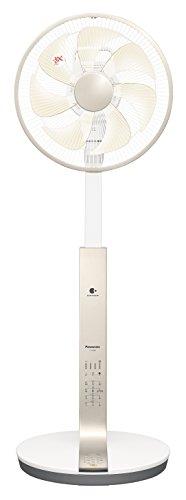 パナソニック リビング扇風機 ナノイー・温度センサー搭載 切/入タイマー付 ...