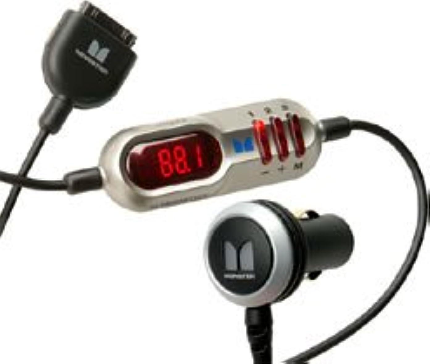 パースブラックボロウリース調和のとれた【国内正規品】 MONSTER CABLE Monster iCarPlay Wireless Plus for iPod FMトランスミッター&シガライター電源アダプター AIP FM-CH PS JP