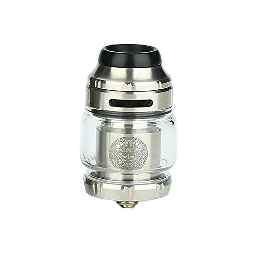 顎令状国民正規品 GeekVape Zeus X RTA 2ml/4.5ml 電子タバコ アトマイザー 電子タバコ かっこいい (銀)
