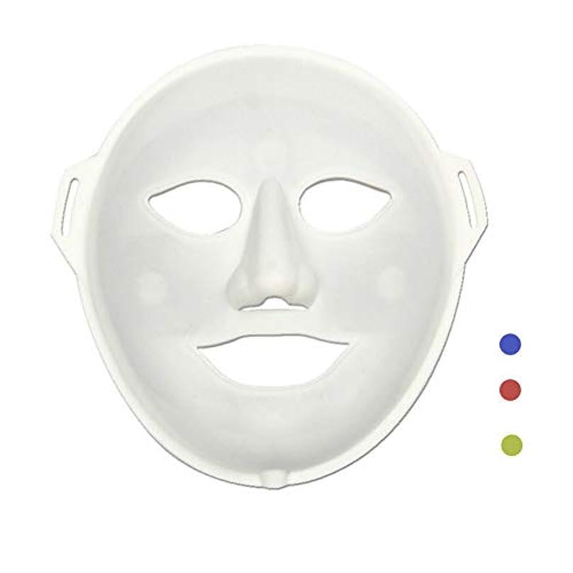 混乱させるフォーマット明日新しいLedカラーライトマッサージ楽器、3Dシリカゲルストーン振動マスク、しわを白くする、毛穴を縮小して肌のトーンを改善する