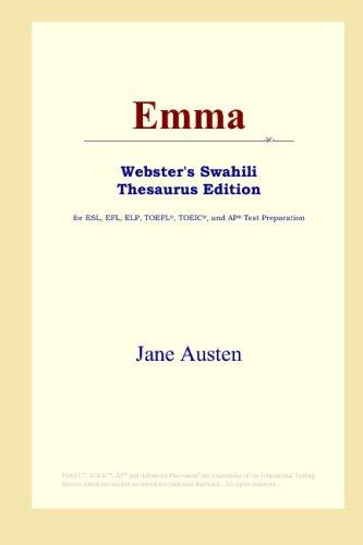 Download Emma (Webster's Swahili Thesaurus Edition) B00125AL24