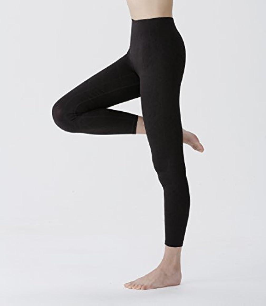 強います圧倒的コンテスト芦屋美整体 骨盤スリムスパッツ (M-L, ブラック)