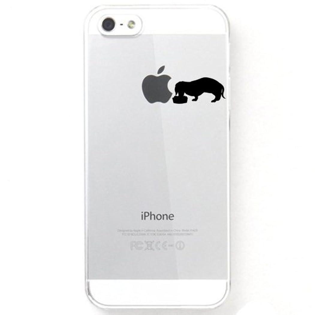 配分継承重要なotas iPhone5S iPhone5用ハードケース/カバー クリア ダックスフンド 888-28045