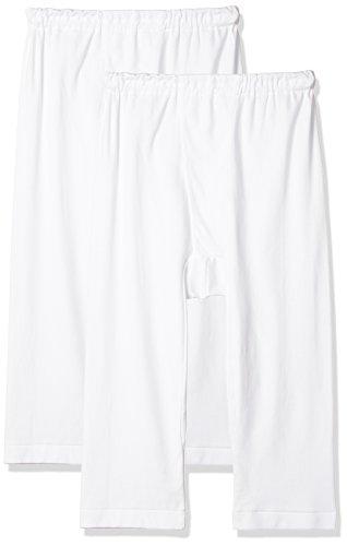 (グンゼ)GUNZE 紳士 あったかソフト スムース 綿100% 半ズボン下(前あき) 2枚組 RP55072 03 ホワイト L