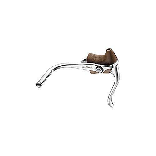 (DIA-COMPE/ダイアコンペ)(自転車用ブレーキレバー)DC165-EX レバー (左右セット) ブラウン