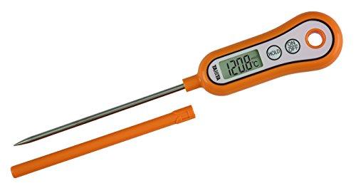 タニタ スティック温度計 オレンジ なかみの温度チェックで安心調理 1個