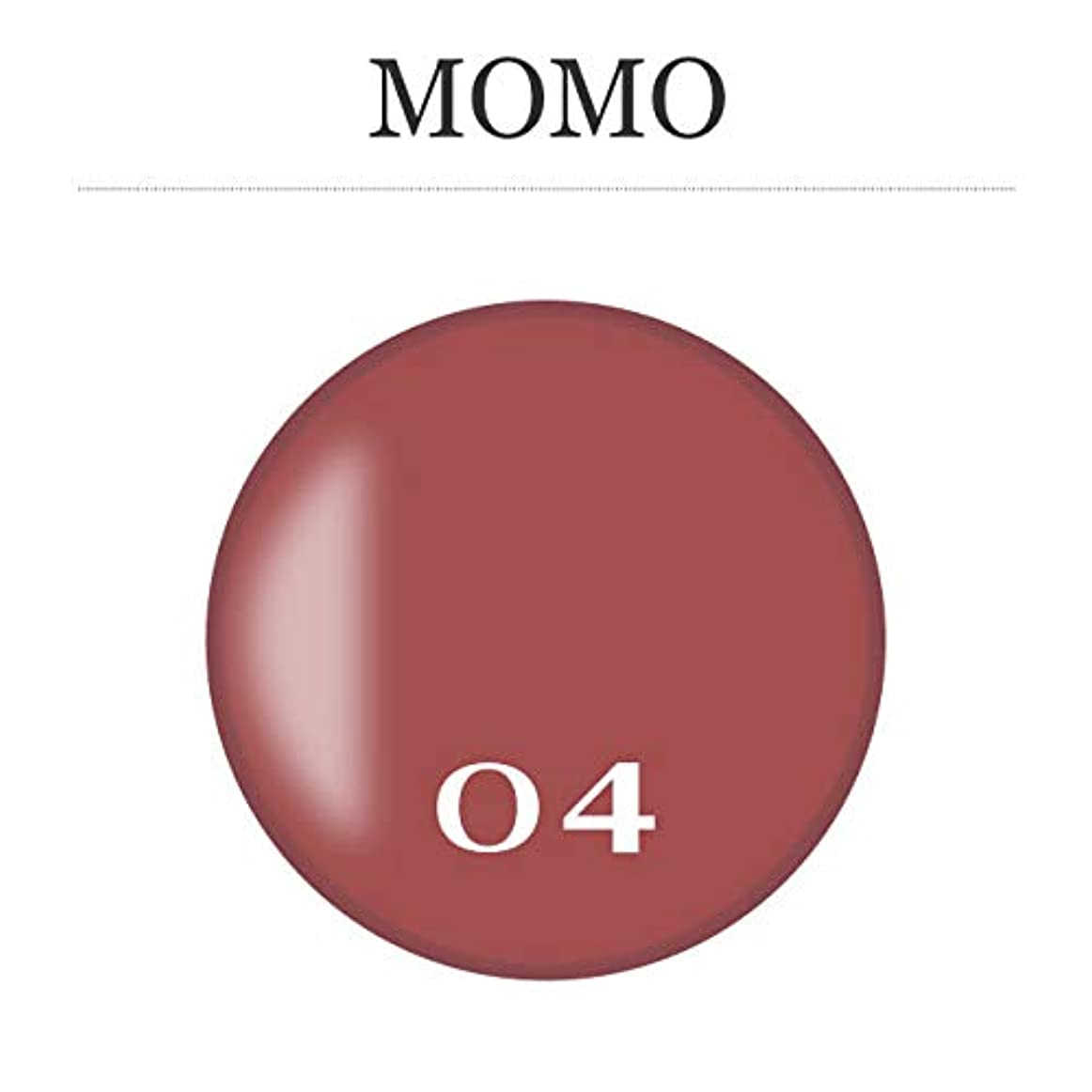 ホイップ回復するブロックカラージェル MOMO-04 by nail for all