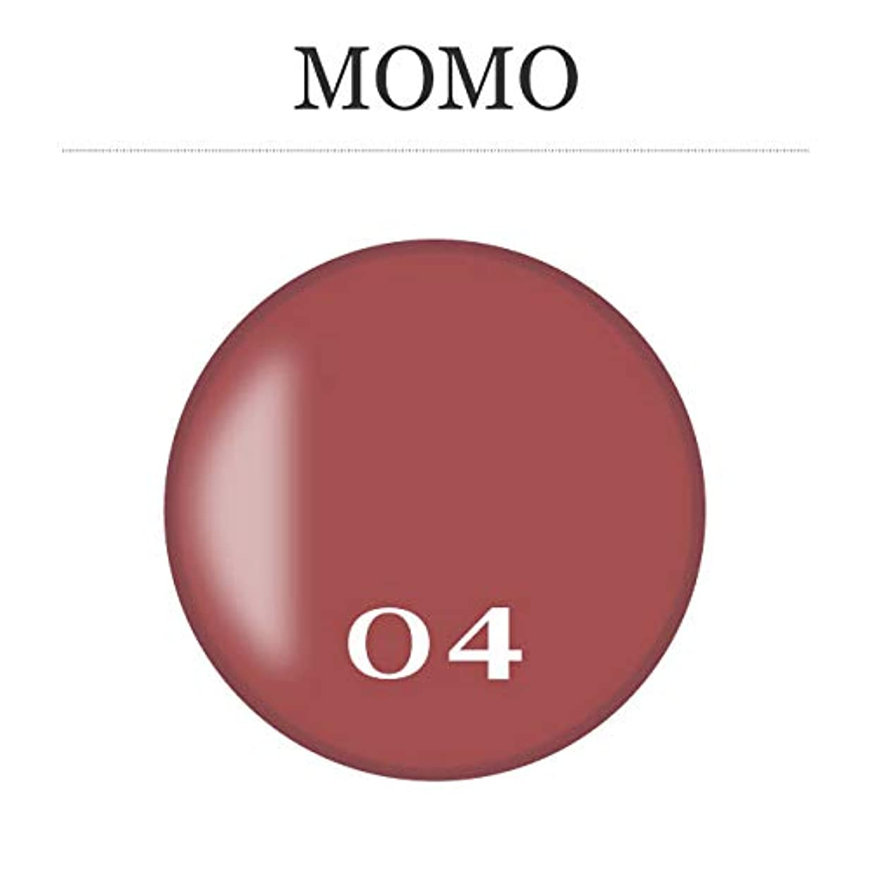 無視割れ目正当化するカラージェル MOMO-04 by nail for all