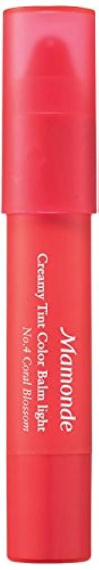 根絶するゼリー気取らないマモンド(Mamonde) クリーミーティント?カラーバーム?ライト Creamy Tint Color Balm Light 2.5g (No.4 Color Blossom)