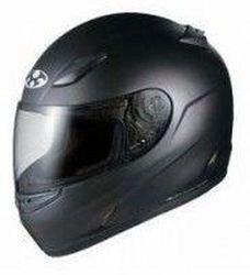 オージーケーカブト(OGK KABUTO)バイクヘルメット フルフェイス FF-R3 フラットブラック L (59-60cm未満)