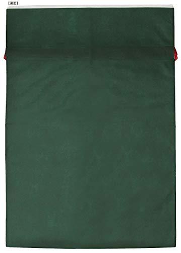 『インディゴ クリスマス ラッピング袋 グリーティングバッグ3L クリスマスツリー ダークグリーン XG984』の2枚目の画像