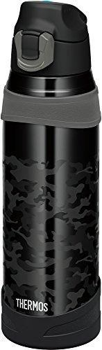 サーモス 水筒 真空断熱スポーツボトル 【ワンタッチオープンタイプ】 1.0L ブラックカモフラージュ FHQ-1001 BK-C