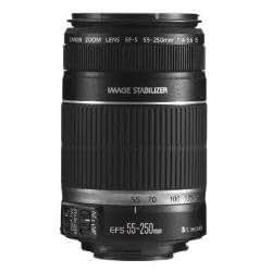 Canon 望遠レンズ EF-S55-250mm F4-5.6 IS APS-C対応