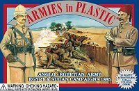 Egypt & Sudan 1885 Anglo-Egyptian Army (20) 1/32 Armies in Plastic by Armies in Plastic