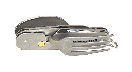 ノースマン チタンスプーン・フォーク付き5徳ツール 引き割り KT-525
