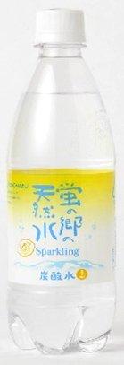 友桝飲料 友桝飲料 蛍の郷の天然水 スパークリング レモン 500ml×24本