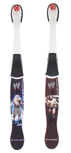 WWE John Cena & CM Punk Toothbrushes - 2 Pack by Brush Buddies