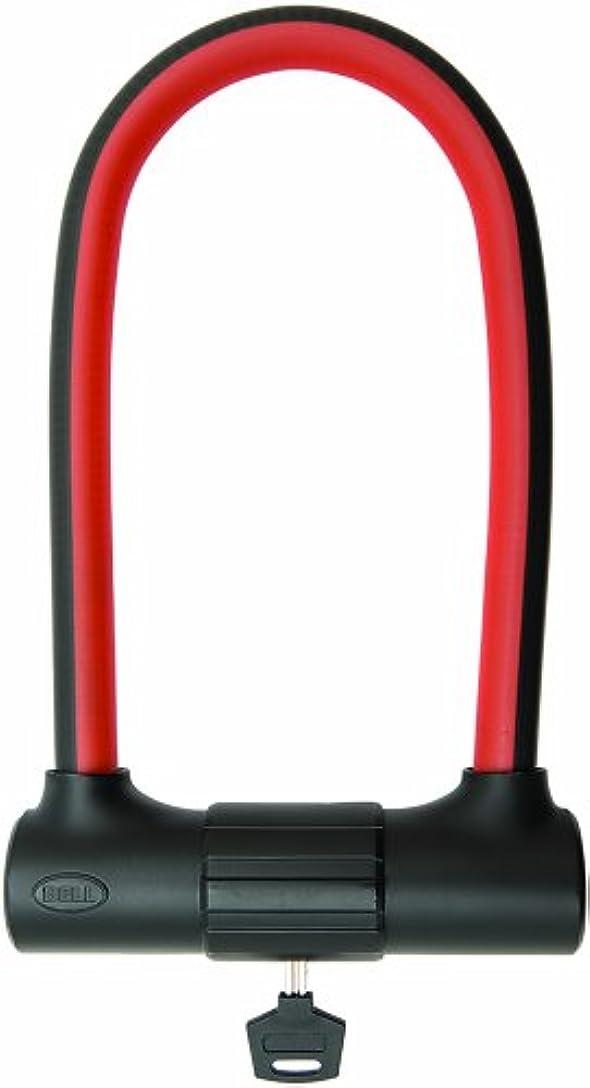 話多年生反応するBell Cinch 500 Flex U-Lock, Black/Red by Bell