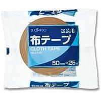 (まとめ) スリオンテック 布テープ 50mm×25m 343960-50 1巻 【×20セット】 [簡易パッケージ品]