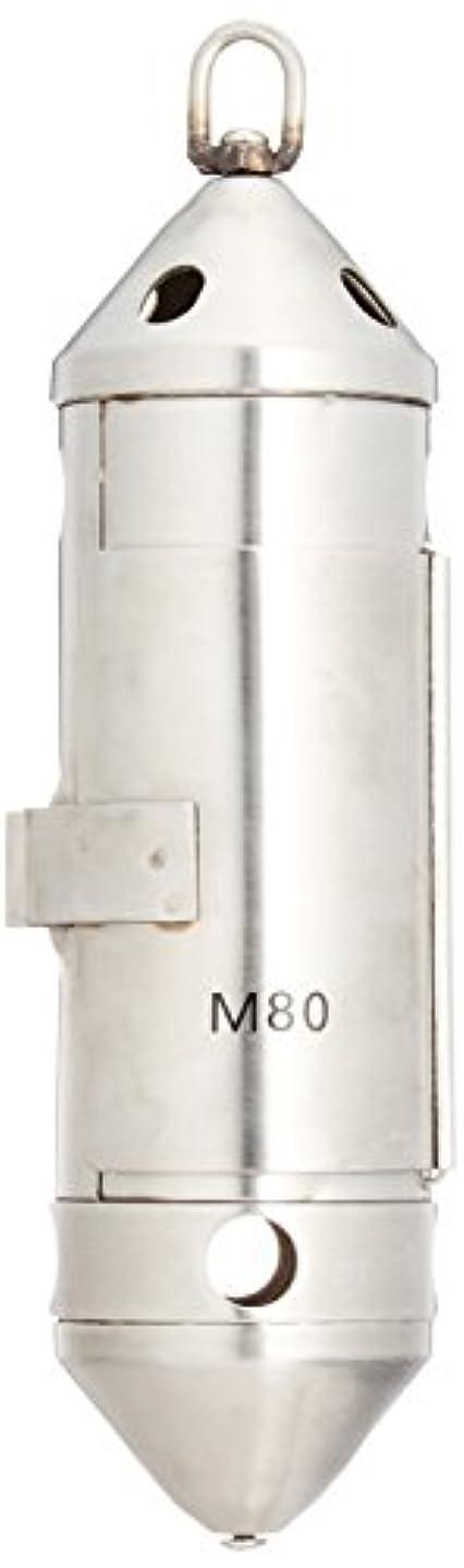 能力基礎理論報酬のフジワラ(FUJIWARA) コマセ管II M-80 ステンカラー