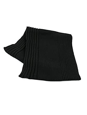 (グレンゴードン) GLEN GORDONアンゴラ混ウールリブスヌードネックウォーマーNGS0853・034 F(フリー) 990(BLACK)