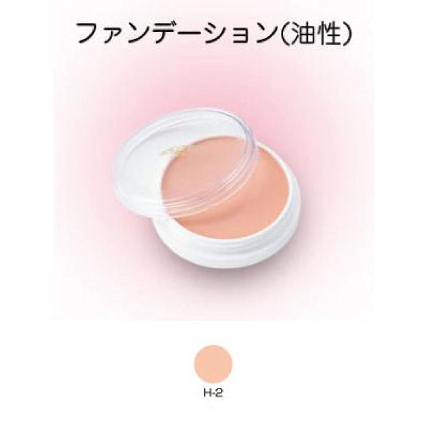 垂直美容師折グリースペイント 8g H-2 【三善】ドーラン