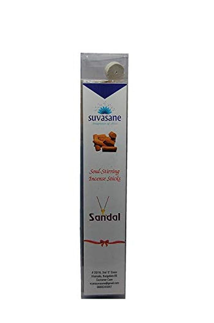 反射魅力学ぶSuvasane Agarbatti Sandal Fragrance, 60 sticks per pack, Black 9