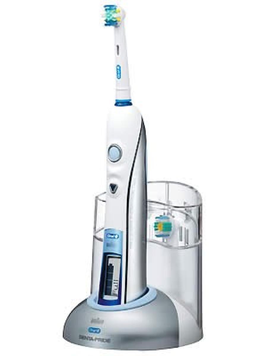 ブランド加速する詩ブラウン オーラルB 電動歯ブラシ デンタプライド デラックス D255264