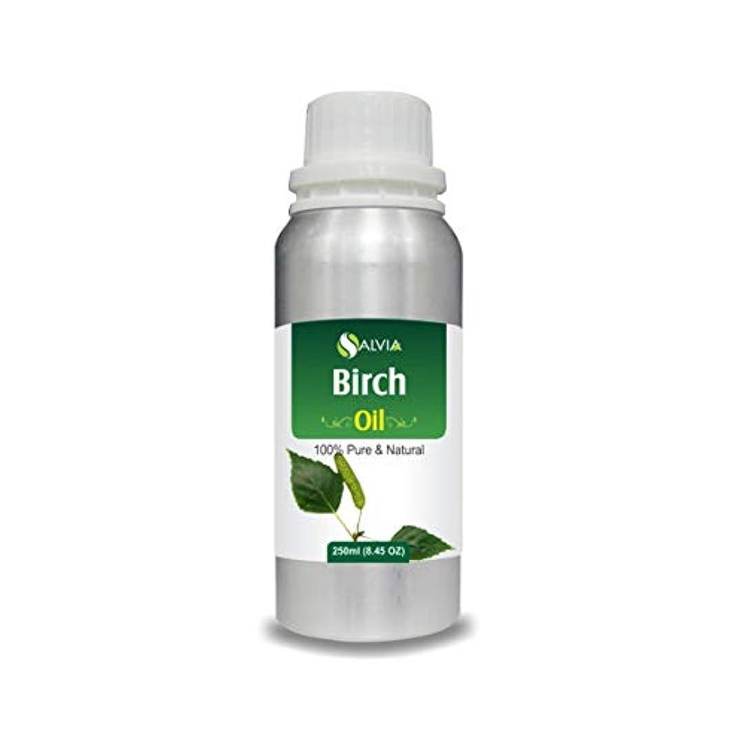 こねるオーディション空白Birch Essential Oil (Betula pendula Betula alba) 100% Pure & Natural - Undiluted Uncut Therapeutic Grade - Aromatherapy...