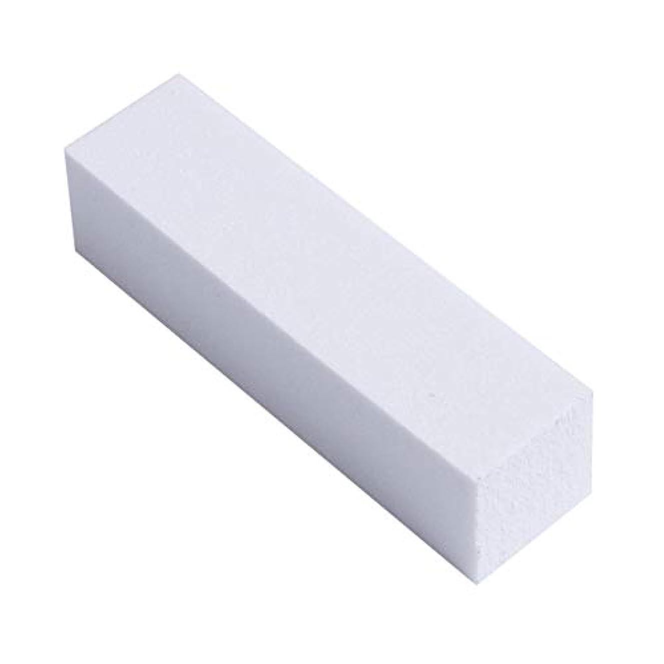 爪やすり 爪磨き ネイルケア ネイルファイル ネイルシャイナ スポンジ つめみがき バッファー 4面タイプ 光沢出し 10本セット