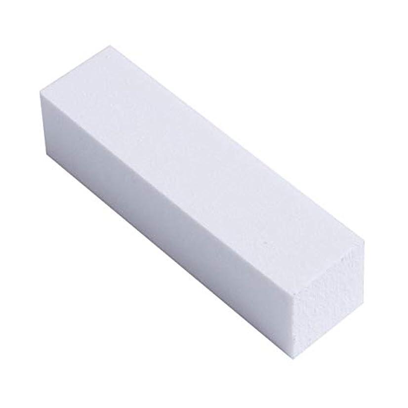 薄いです口径できる爪やすり 爪磨き ネイルケア ネイルファイル ネイルシャイナ スポンジ つめみがき バッファー 4面タイプ 光沢出し 10本セット