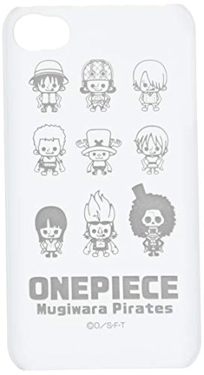 レイ?アウト iPhone4 / iPhone4s ケース ワンピースキャラクターシェルジャケット パンソンワークスホワイト RT-OP3B/PW