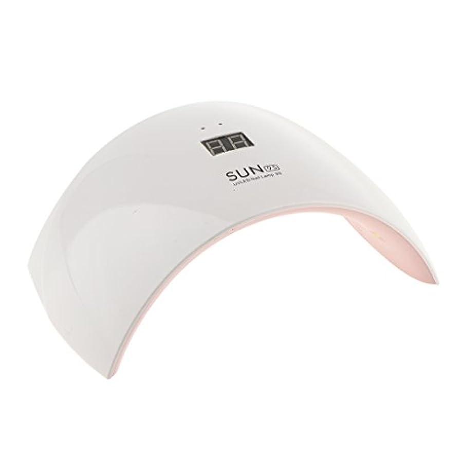 休憩する増強する扱いやすいDYNWAVE 24w Led Uv爪ドライヤーは、爪のゲルベースの磨きをベースにプラグインランプ