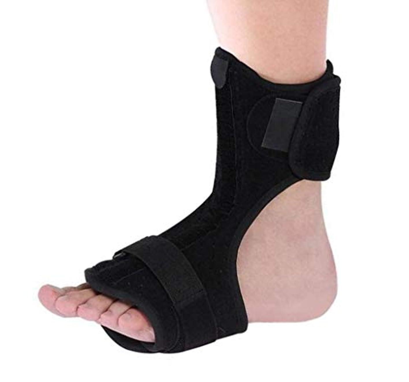 大きなスケールで見ると真実桁足首固定ブラケット、足首装具ブレース、足関節固定装具、アキレス腱手術足首関節術後ケアブレース
