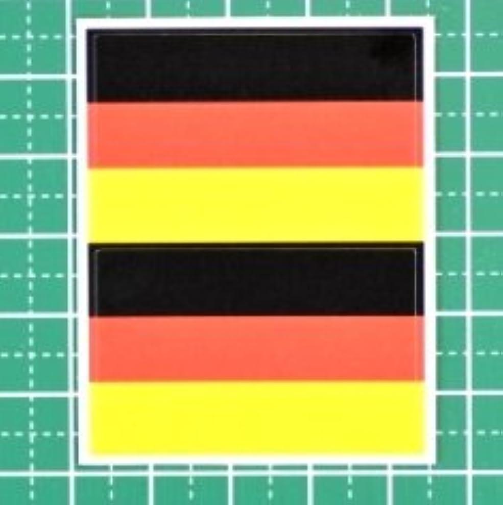 抽象サイズ策定するドイツ国旗★フェイスシール【ワールドカップ(サッカー)】/1シート2枚組