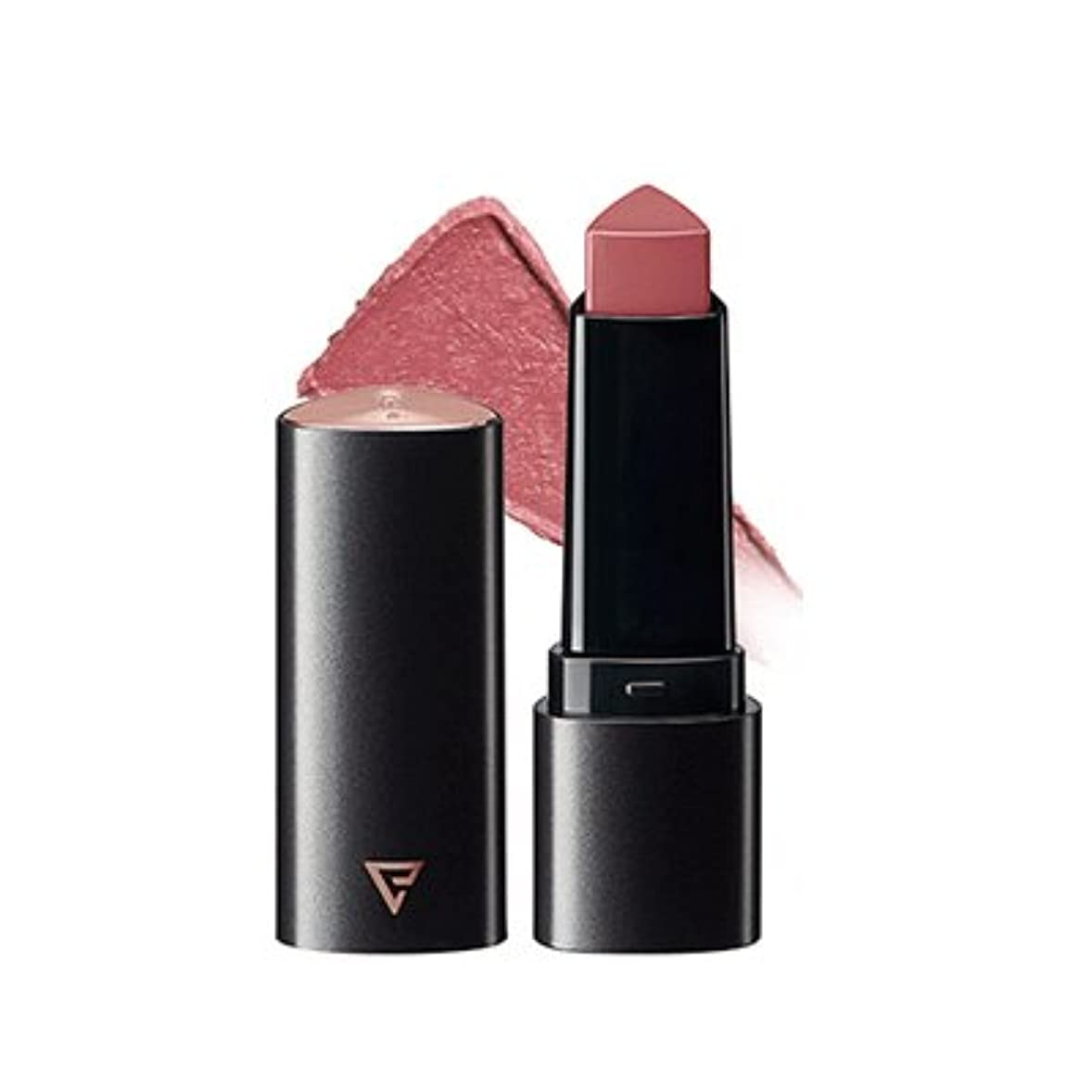 パラメータ牛シングル【The Saem】ザセムスリーエッジリップスティックベルベットフィット 2.5g 3Edge Lip Stick Velvet Fit 韓国人気コスメ (PP01-スローダウン)