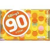 TDK オーディオカセットテープ(ハイポジ) CDing2 90分 [CD2-90U]