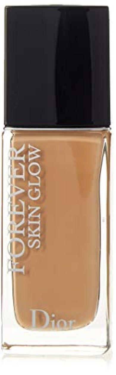 細心の周囲戦艦クリスチャンディオール Dior Forever Skin Glow 24H Wear High Perfection Foundation SPF 35 - # 3.5N (Neutral) 30ml/1oz並行輸入品