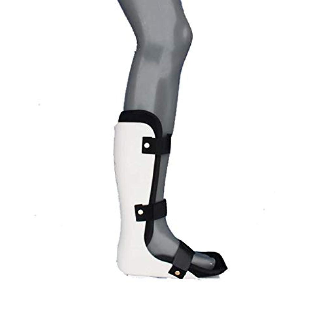 伝統パイプギャザーFoot Splint Ankle、Corrector Foot Drop Posture Night Sleep Foot Supportは、足底筋膜炎の安定化の症状を緩和するのに役立ちます (Color : B, Size...