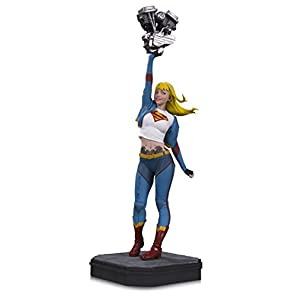 DC Collectibles Gotham City Garage : Supergirl Resin Statue