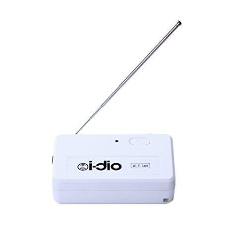 世界初 新放送サービス i-dio対応 Wi-Fiチューナー i-dio Wi-Fi Tuner TUVL01