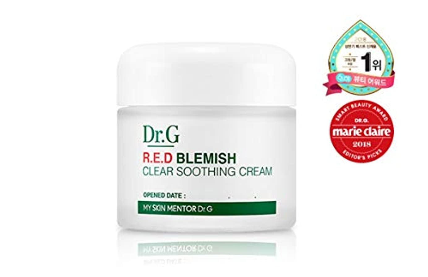 [Dr.Gドクタージー]レッド ブレミッシュ クリア スージング クリーム 70ml / Dr.G RED BLEMISH CLEAR SOOTHING CREAM 70ml [並行輸入品]