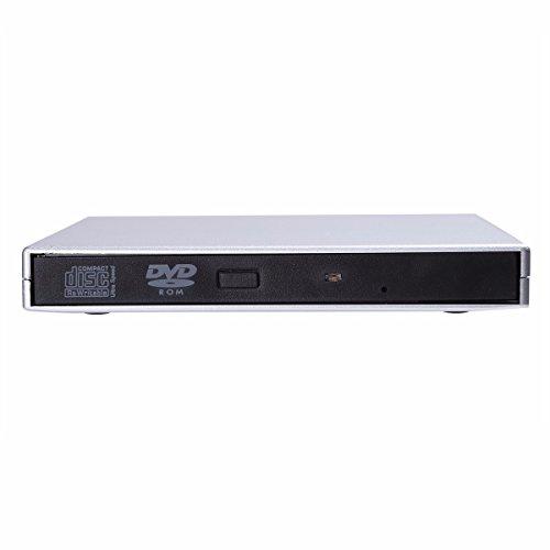 RoomClip商品情報 - (アイム)iiniim 外付けCDドライブ USB2.0 超薄型 ポーダブルなDVD+R DVD-R CD-ROM DVD-ROM CD-RWレコーダー 外付けプレイヤー光学式 記録型ドライブ ノートパソコン ラップトップ PCに適合 Windows 2000/XP/Vista/7 MacOS