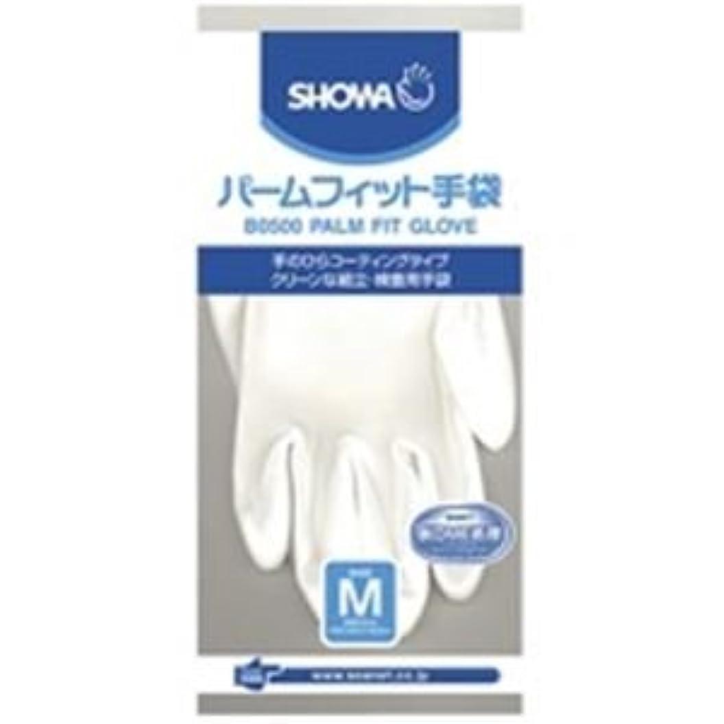 ハンディキャップ敬の念パドル(業務用10セット)ショーワ パームフィット手袋 B0500 M 白 ds-1464761